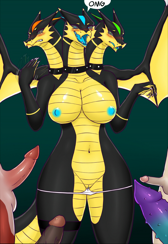 x male dragon human female Daily life with a monster girl miia