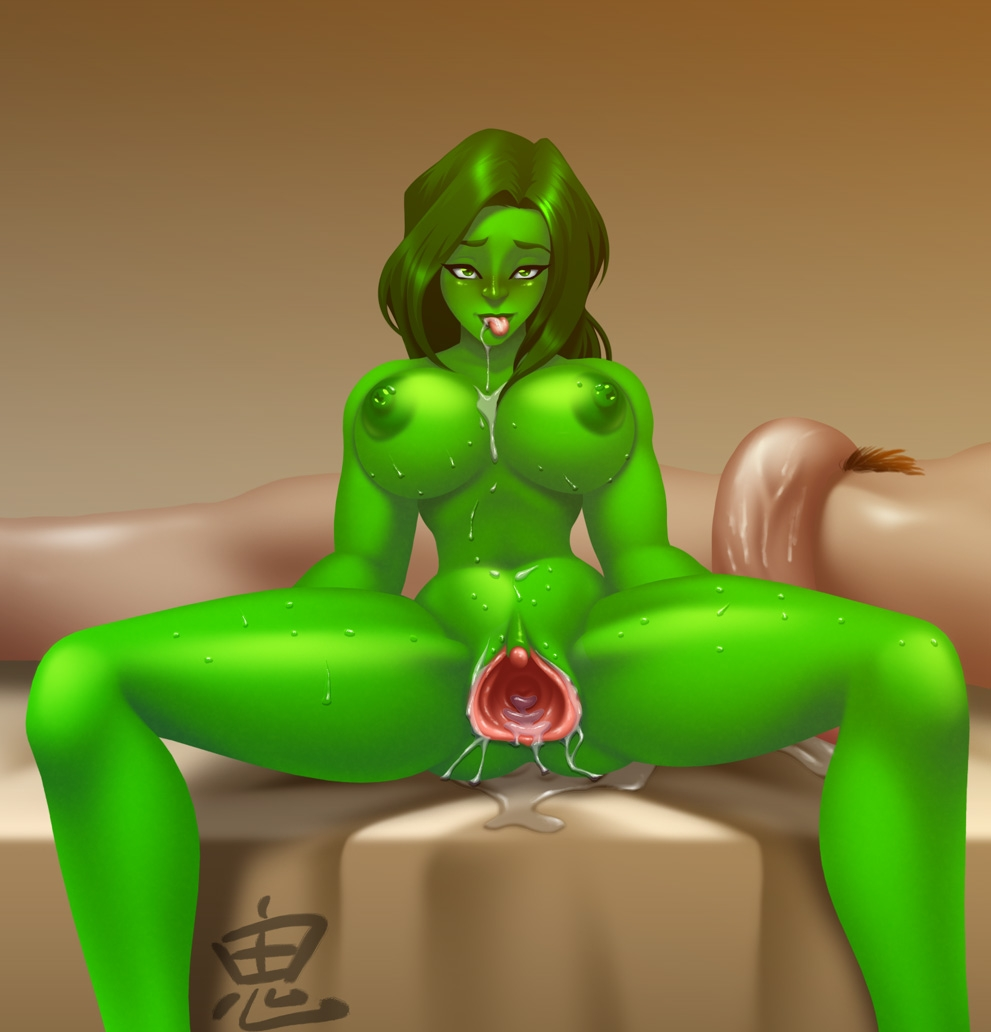 spiderman she-hulk and Elodie long live the queen