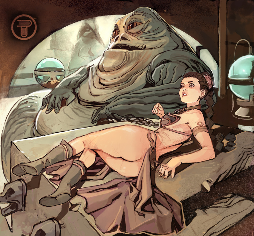hutt jabba licks leia the Lobotomy corporation queen of hatred