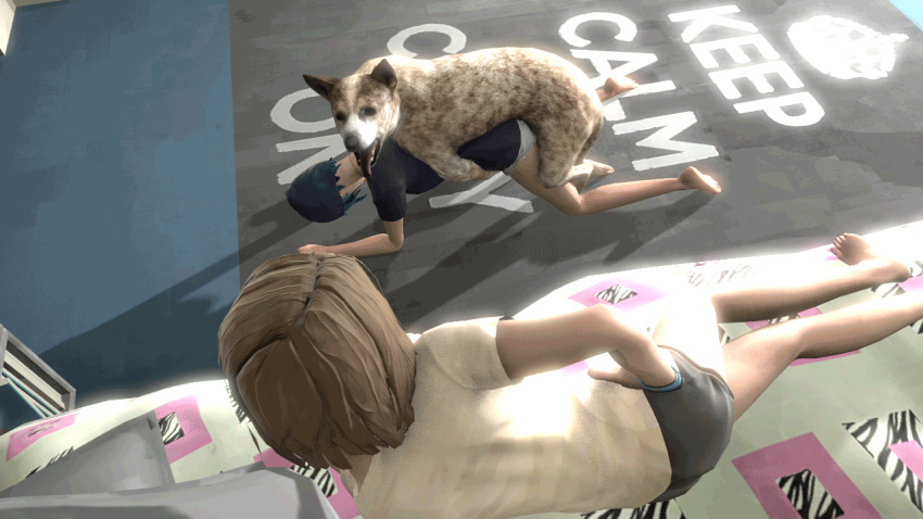 strange and max chloe life fanart is Five nights at anime game