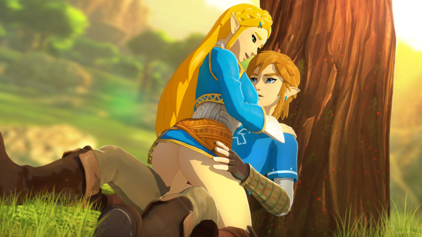 clothing all breath the wild of Legend of queen opala sex