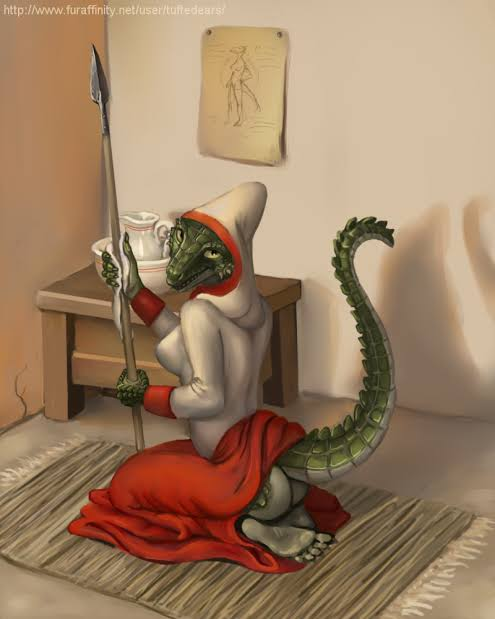 maid lusty the hentai argonian Vilia breath of the wild