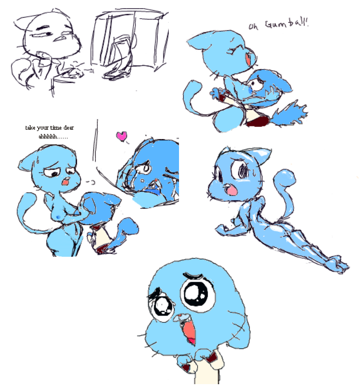 of clare amazing gumball world How to become a hentai artist